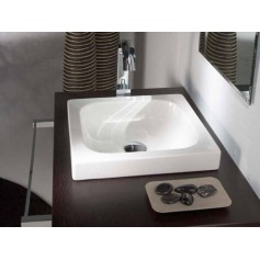 Bathco washbasin Eva Semi-recessed 4014 400x400x110mm