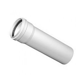 Nicol indoor sewage pipe with sleeve 50/250 white
