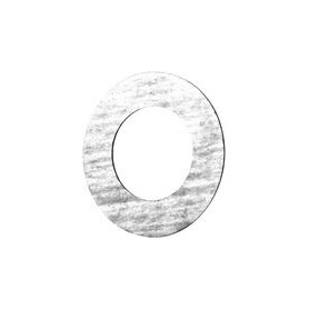 Weldable flange gasket Dn25, steam/ oil products, paranite