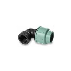 SAB compression elbow, with inner thread for PE pipe PN10, d32x3/4F