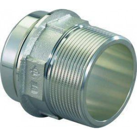 """Uponor press transition RS 2 outer thread 2 1/2""""ot 1029132"""