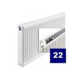 Purmo radiator with side connection 22 400x 500