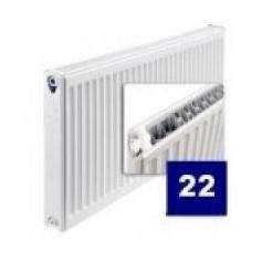 Purmo radiator with side connection 22 400x 700