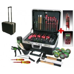 Electrician tool kits and bags