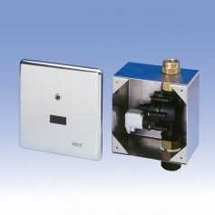 Automatic water drain installations