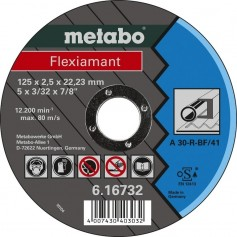 Cutting discs for metal, stone