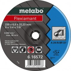 Grinding discs for metal, stone